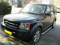 Пороги площадки для Land Rover Discovery IV