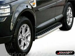 Пороги площадки для Range Rover Sport с 2005-2013 г.