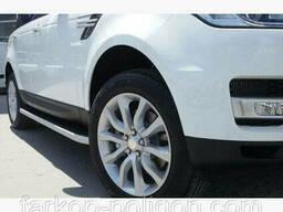 Пороги площадки для Range Rover Vogue с 2014 г.