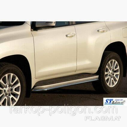 Пороги площадки для Toyota Land Cruiser Prado 120