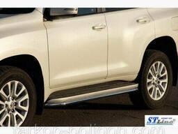 Пороги площадки для Toyota Land Cruiser Prado 150