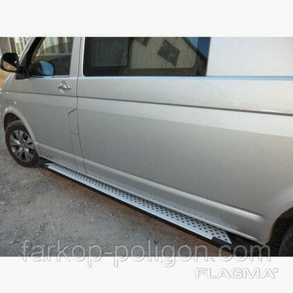 Пороги площадки для Volkswagen Transporter T5 (Caravelle). ..