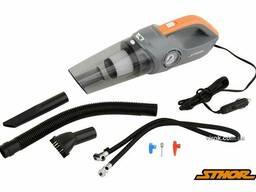 Порохотяг автомобільний Sthor 12 В 80 Вт фільтр HEPA з компресором 120 Вт 1 Мпа 20 л/хв. ..