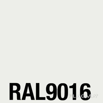Порошковая краска RAL 9016, белая, шагрень, глянец, структурами