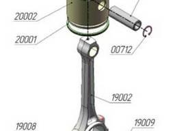 Поршневые кольца компрессора ПКС-5,25, ПК-5,25, ПКСД-5,25