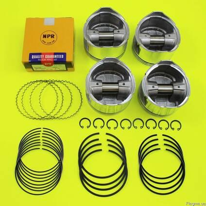 Поршневые кольца на двигатель Nissan K21 (STD, 0.50, 1.00)