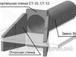 Откосная стенка СТ-4 (Бл. №38)