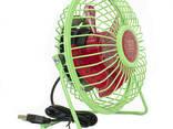 Портативный мини-вентилятор Fan Mini Sanhuai A18 Green +. .. - фото 4