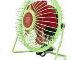Портативный мини-вентилятор Fan Mini Sanhuai A18 Green +. .. - фото 2