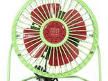 Портативный мини-вентилятор Fan Mini Sanhuai A18 Green +. .. - фото 1