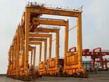 Портовой козловой контейнерный кран RTG - фото 2