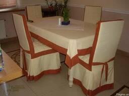 Пошив банкетных юбок и чехлов на стулья