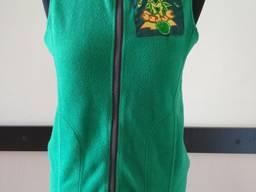 Флисовая жилетка женская с Вашим логотипом