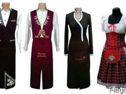 Пошив формы официанта в стиле народных костюмов