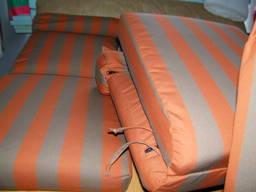 Пошив матрасов на лежаки, шезлонги и кресла