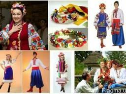Пошив под заказ украинских вышиванок