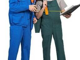 Пошив рабочих костюмов и спецодежды под заказ