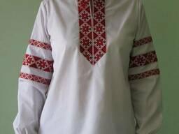 Пошив рубашек-вышиванок мужских и женских под заказ