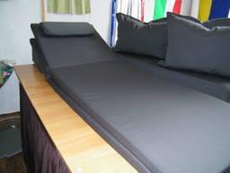 Пошив съемных чехлов на матрасы для шезлонгов (лежаков)