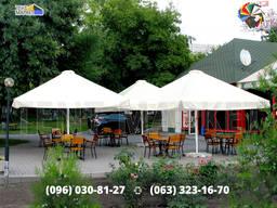 Пошив замена купол тент на зонт уличный для кафе ресторана