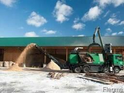 Послуга подрібнення деревини на тріску!!!