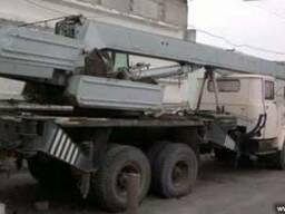 Послуги Автокраном Оренда Автокрана 10т КРАЗ КС3575