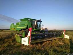 Послуги по збираннню ріпаку, врожаїв зернових. . .