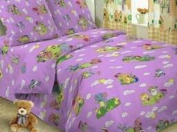 Постель в детскую кроватку , для садиков 100*145