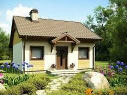 Каркасный дачный домик, построить дачу в Днепропетровске