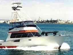 Постройка алюминиевых катеров типа Atlantic50 Sport Fisher