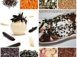 Посыпки для мороженого, из Бельгийского шоколада