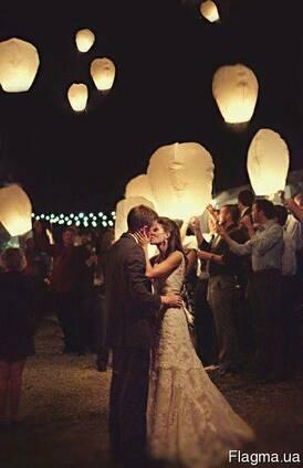 Повітряні ліхтарики, китайські паперові ліхтарі Серце, Купол