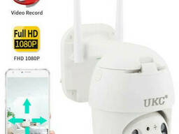 Поворотная уличная IP камера видеонаблюдения N3 WiFi 2 mp
