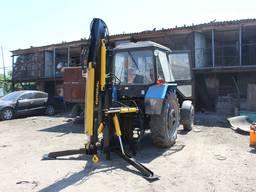 Поворотный кран манипулятор на трактор SL-2000