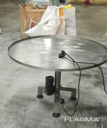 Поворотный стол для фасовки
