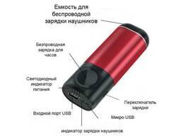 Power Bank 3 в 1 (Iphone Apple Watch AirPods) Серый