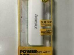 Power Bank Remax mini 2600mAh (белый)