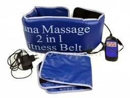 Пояс-массажер Sauna Massage 2 in 1 Fitness Belt (пояс сауна)