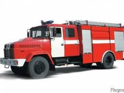 Пожарная автоцистерна КрАЗ 5233
