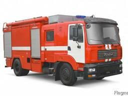 Пожарная автоцистерна КрАЗ 5401Н2