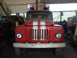 Пожарная машина ГАЗ 53
