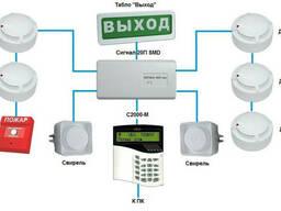 Монтаж сигнализации, видеонаблюдения, домофонов