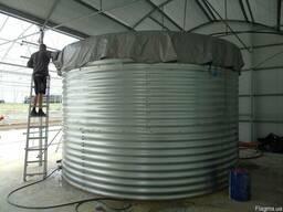 Пожарный резервуар на 1000 кубов для воды, емкость 1000 м3