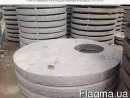 Плиты перекрытий колодцев КЛ-3