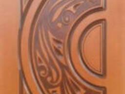 Предлагаем декоративные накладки на метал. двери из фанеры