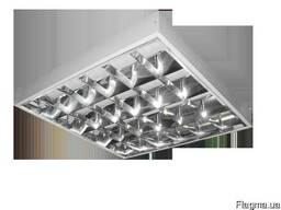 Предлагаем накладные светильники растровые 4х18