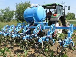 Предлагаем системы внесение жидких удобрений и КАС на культиваторы