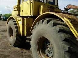 Предлагаем трактор Кировец К 701 с плугом (1156)