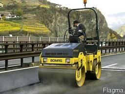 Предлагаем услуги виброкатка BOMAG (1.5т)