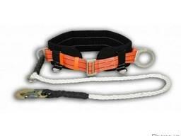 Предохранительный пояс ПБ-5 (строп-шнур полиамид)